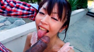 Interracial Asian Babe From Japan Loves BBC